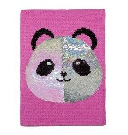 Panda Reversible Sequin Journal