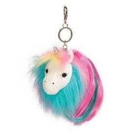 Douglas Rainbow Unicorn Fur Fuzzle Poms