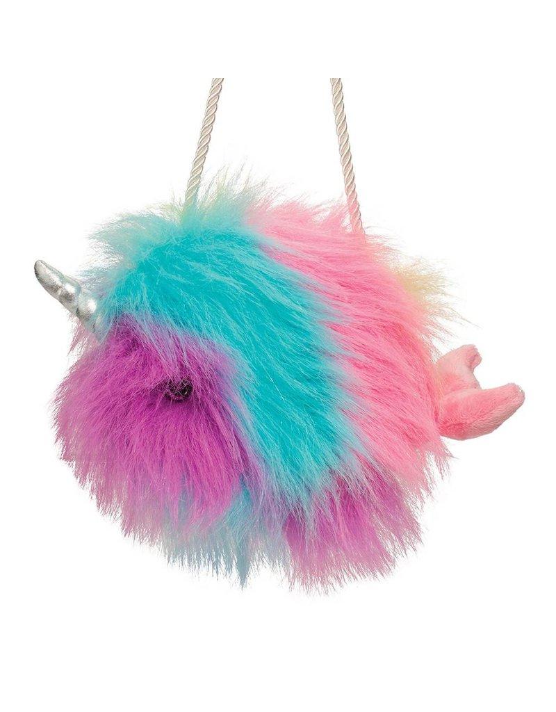 Douglas Rainbow Narwhal Fur Fuzzle