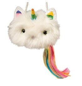 Douglas Caticorn Fur Fuzzle Crossbody