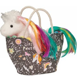 Douglas Girl Power Sak  With Unicorn