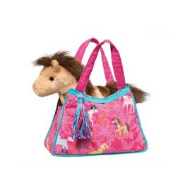 Douglas Pretty Ponies Sak With Brown/Cream Horse