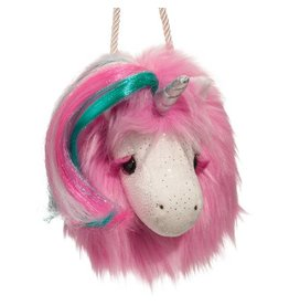Douglas Hot Pink Unicorn Fur Fuzzle