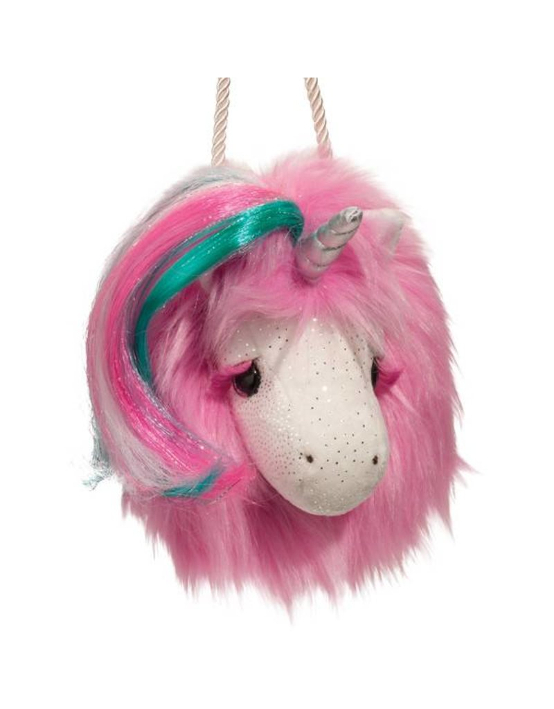 Douglas Hot Pink Unicorn Fur Fuzzle