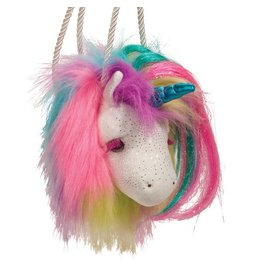 Douglas Rainbow Unicorn Fur Fuzzle