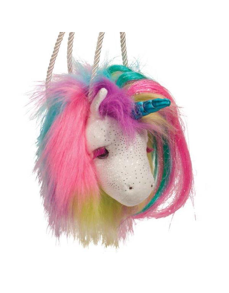 Douglas Rainbow Unicorn Fur Fuzzle