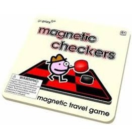 Toysmith Magnetic Checkers Travel Game