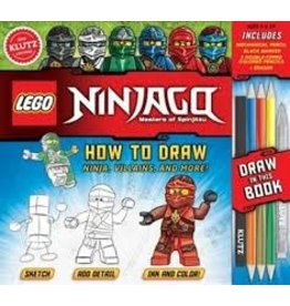 Klutz Lego Ninjago How To Draw Ninja Villains