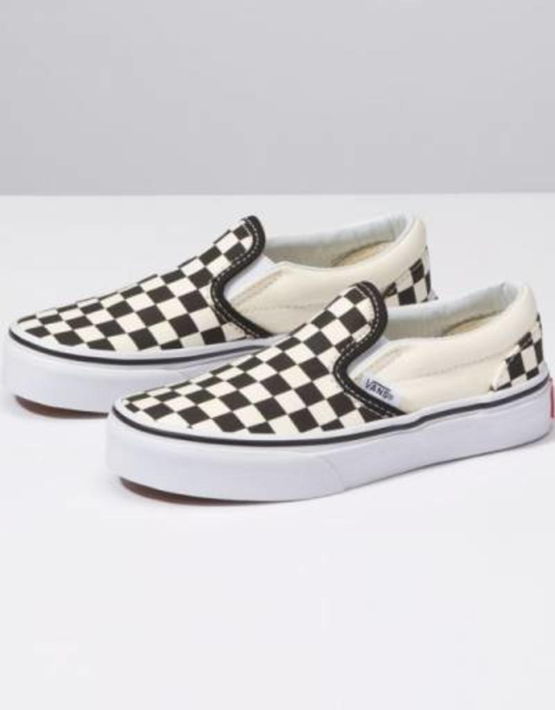 eec3754b19ab Vans Youth Classic Slip-On Checkerboard - 42nd Street Clothing