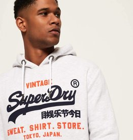 SuperDry Super Dry Mens Shop Duo Hoody