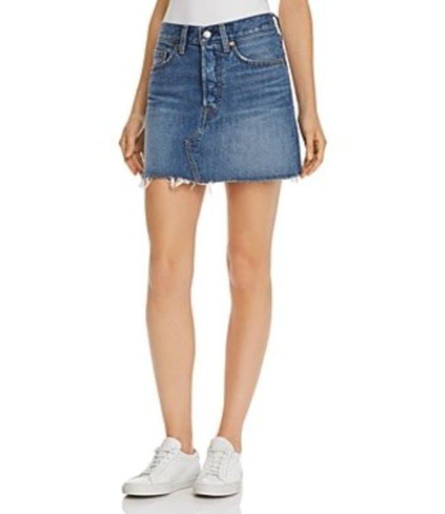 Levis Womens Deconstructed Skirt
