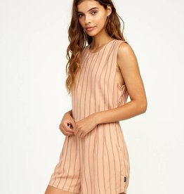 RUCA RVCA Womens Tucked In Romper