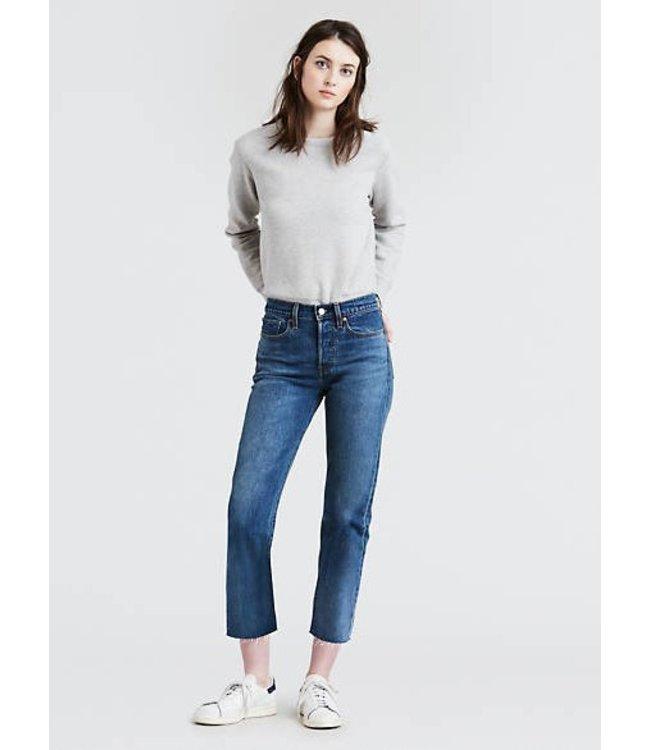 Levis Womens Wedgie Straight