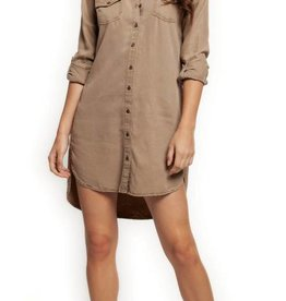 DEX Dex Button Front Tunic