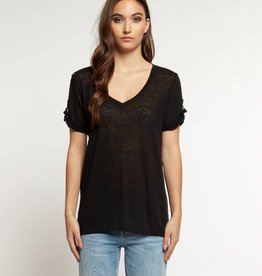 DEX Dex Scoop Neck T-Shirt W/Slv Tab