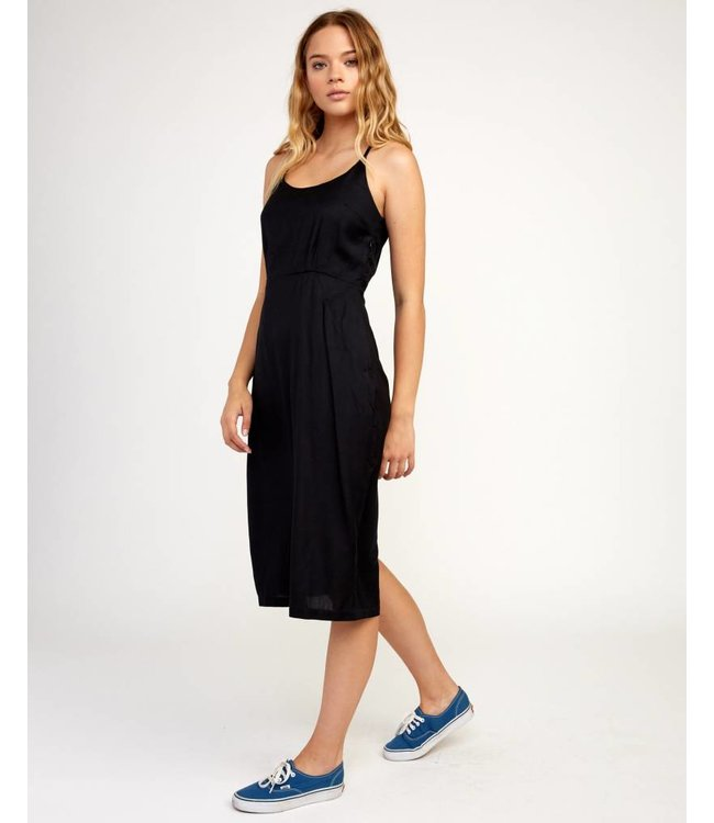 RVCA Womens Cece Midi Dress