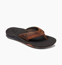 Reef Reef Mens Leather Fanning Sandal