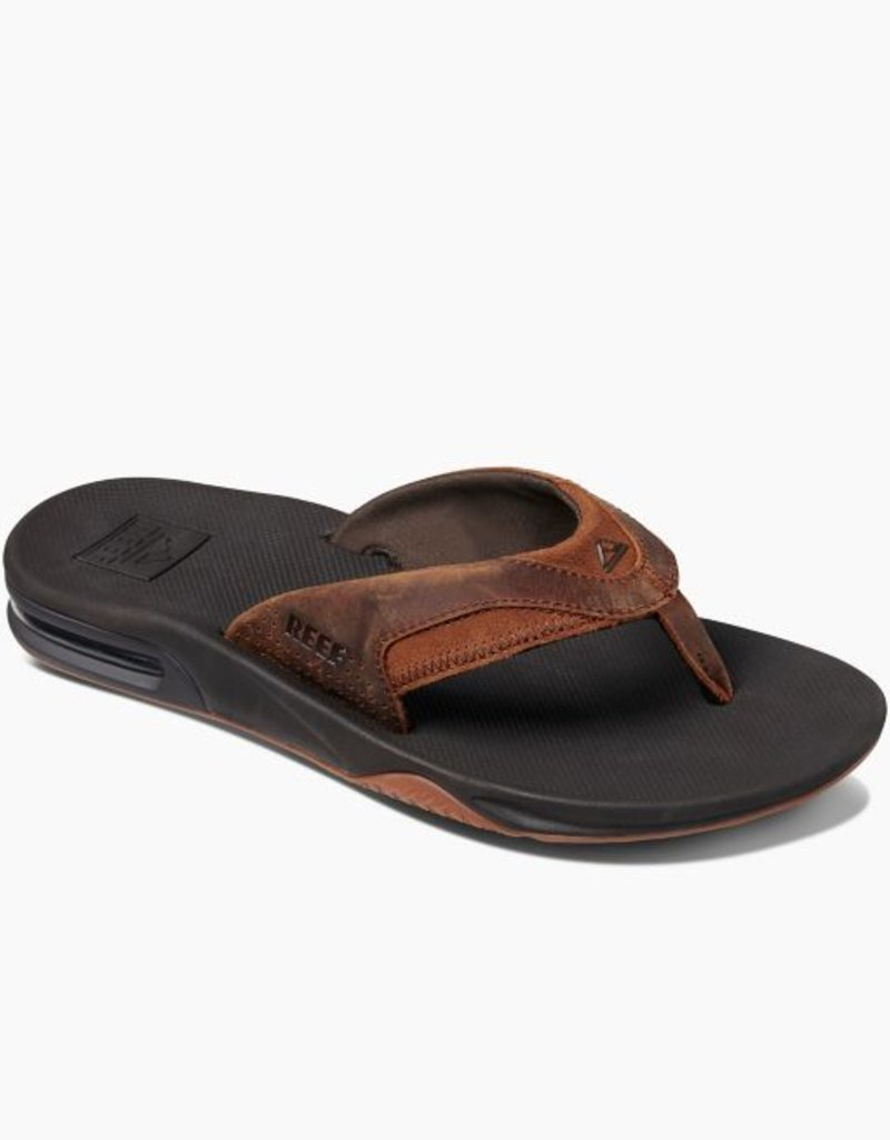906ab01e4d4 Reef Mens Leather Fanning Sandal - 42nd Street Clothing