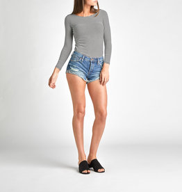 Silver Silver Womens Hello Short