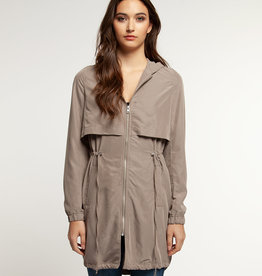DEX Dex Hooded Trench Coat