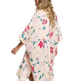 ROXY Roxy Womens Fringe and Flower Kimono