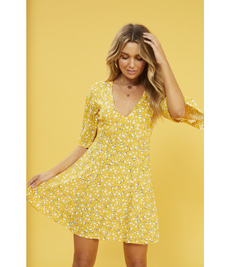 MinkPink Minkpink Summer Daisy Tea Dress