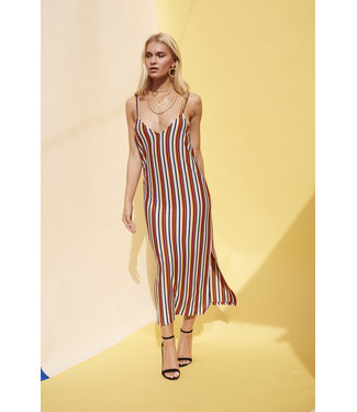 MinkPink Minkpink Stripey Loose Fit Dress