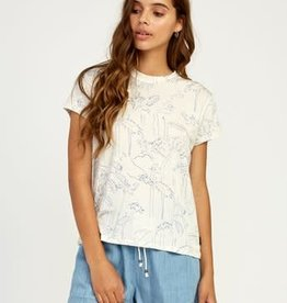 RUCA RVCA Womens Suspension Tee