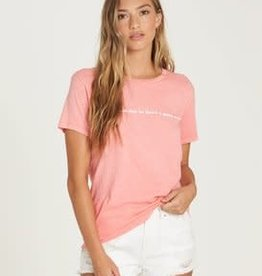 Billabong Billabong Womens Have A Good Day Tee