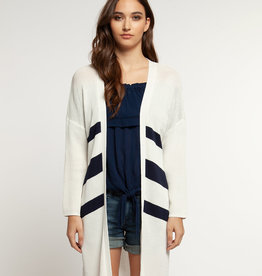 DEX Dex L/Slv Open Cardigan Sweater