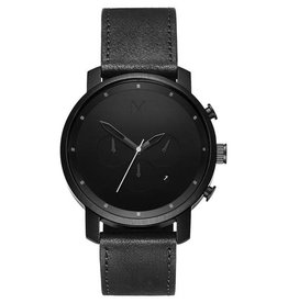 MVMT MVMT Chrono Black Leather