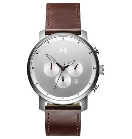 MVMT MVMT Chrono Silver Brown