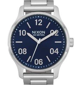 Nixon Nixon Patrol Navy Silver
