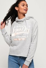 SuperDry Super Dry Womens Real Satin Hoody