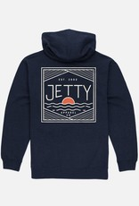 Jetty Jetty Mens Shutter Zip Hoody