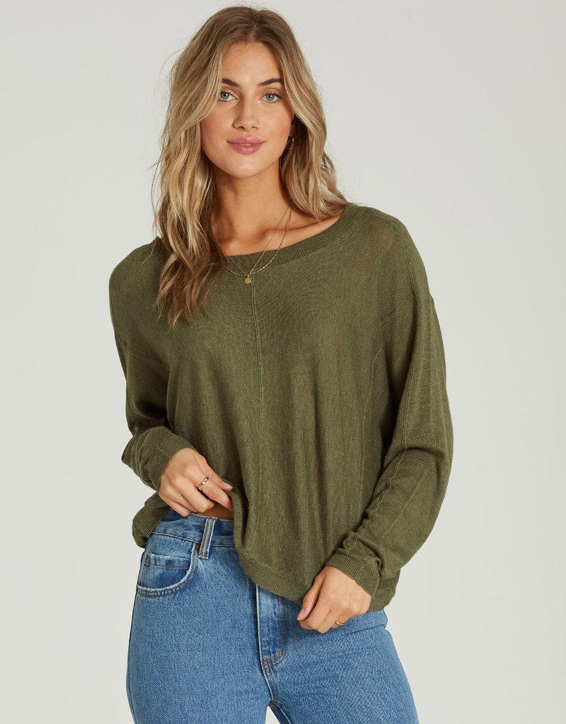 Billabong Billabong Womens No Regrets Sweater