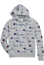 Champion Champion Mens All-over Logo Hoody