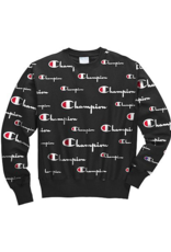Champion Champion Mens All-over Logo Crew