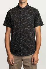 RUCA RVCA Mens Prelude Floral SS Shirt