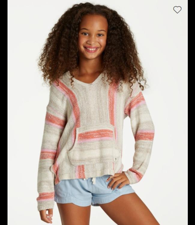 Billabong Youth Girls Baja Cove Sweater