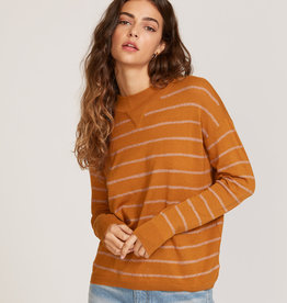 RUCA RVCA Womens Tristan Striped Sweater