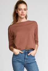RUCA RVCA Womens Lowry Knit Thermal Top