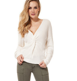 DEX Dex L/Slv V-Neck Twist Sweater