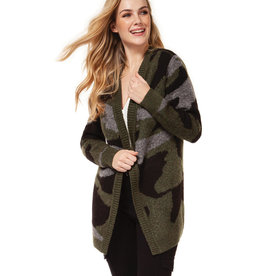 DEX Dex Long Sleeve Open Cardigan Sweater
