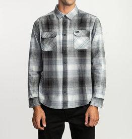 RUCA RVCA Mens Muir LS Flannel Shirt
