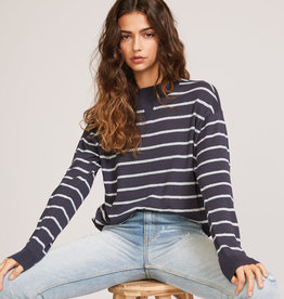 RUCA RVCA Womens Tristan Striped Sweater