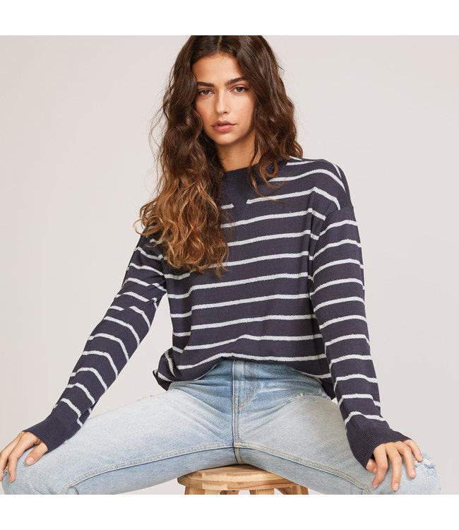 RVCA Womens Tristan Striped Sweater