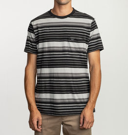 RUCA RVCA Mens Deadbeat Stripe Tee