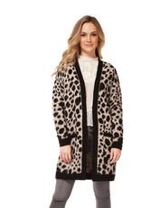 DEX Dex Long Sleeve Open Cardigan Sweater