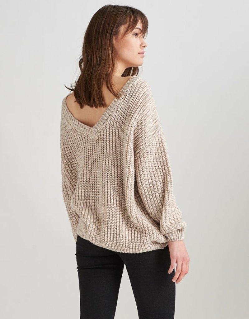 24Colours 24Colours Womens Oversized V-neck